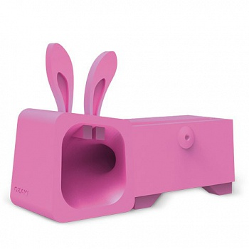 Ozaki O!music Zoo Rabbit Pink for iPhone 5 (OM936RB) - ITMag