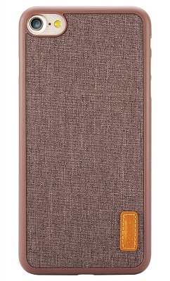 Чехол Baseus Grain Case For iPhone 7 Brown (WIAPIPH7-BW08) - ITMag