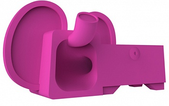 Ozaki O!music Zoo Elephant Dark Pink for iPhone 5 (OM936EB) - ITMag