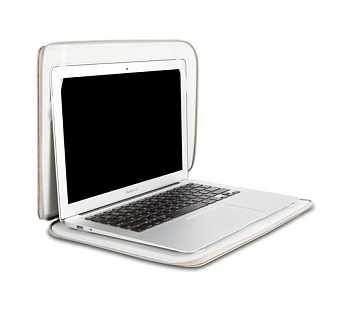 "Сумка Moshi Protective Case Codex Brushed Titanium for MacBook Pro 13"" Retina (99MO010242) - ITMag"