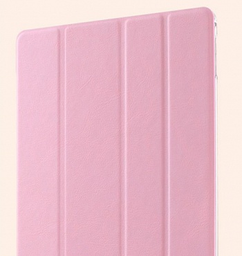 Чехол USAMS Viva Series for iPad Air 2 Slim Four-fold Stand Smart Leather Case - Pink - ITMag