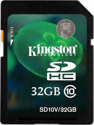 Kingston 32 GB SDHC Class 10 SD10V/32GB - ITMag