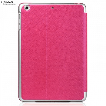 Чехол USAMS Jazz Series for iPad Air Smart Slim Leather Stand Cover Rose - ITMag