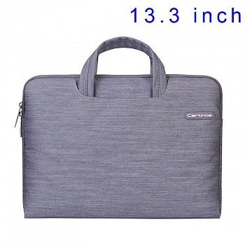 Сумка для ноутбука EGGO Cartinoe Jean Series для MacBook Air Pro 13.3 (Серая / Grey) - ITMag