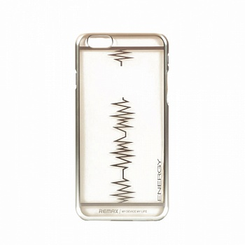 Чехол Remax для iPhone 6/6S Heartbeat Silver - ITMag