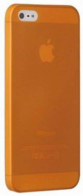 Ozaki O!coat 0.3 Jelly Orange for iPhone 5/5S (OC533OG) - ITMag