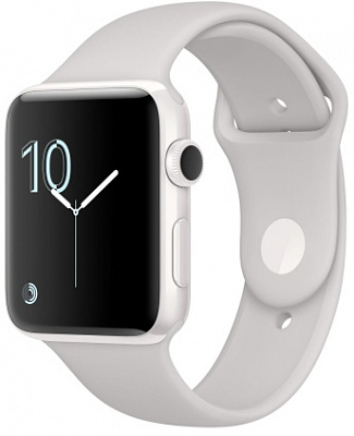 Apple Watch Edition 42mm White Ceramic Case with White Sport Band (MNPQ2) - ITMag