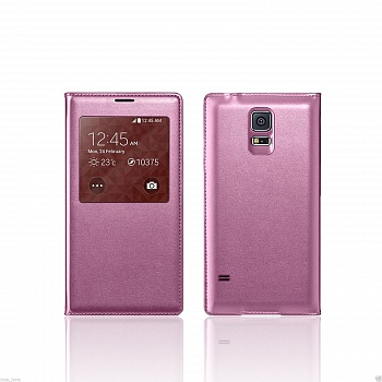 Чехол S View Cover Samsung Galaxy S5 G900H (purple) - ITMag