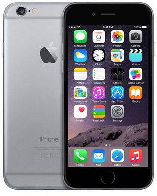Apple iPhone 6 64GB Space Gray (Factory Refurbished) Уценка - ITMag