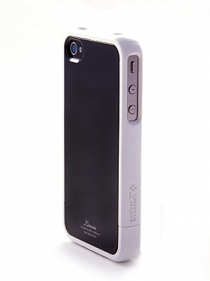 Чехол для iPhone 4/4S SGP Linear Color Series Black-White - ITMag