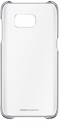 Samsung Clear Cover Galaxy S7 Edge Black (EF-QG935CBEGRU) - ITMag