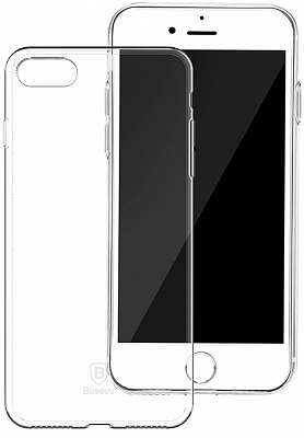 Чехол Baseus Simple Series Case (Clear) For iPhone7 Transparent (ARAPIPH7-B02) - ITMag