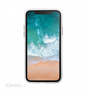Чехол LAUT ACCENTS для iPhone X - Crystal (LAUT_IP8_AC_UC) - ITMag