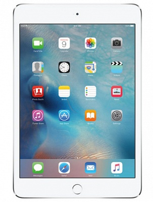 Apple iPad mini 4 Wi-Fi + Cellular 128GB Silver (MK8E2, MK772) UA UCRF - ITMag