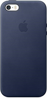Apple iPhone SE Leather Case - Midnight Blue (MMHG2) - ITMag