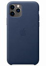 Apple iPhone 11 Pro Leather Case - Midnight Blue (MWYG2) Copy - ITMag