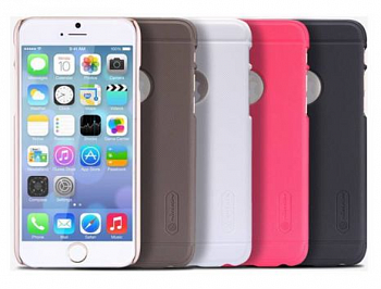Чехол Nillkin Matte для Apple iPhone 6/6S (+ пленка) (Белый) - ITMag