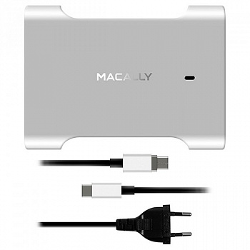 Адаптер Macally Charger for MacBook Pro with magnetic USB-C cable (CHARGER61-EU) - ITMag