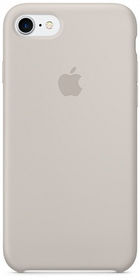 Apple iPhone 7 Silicone Case - Stone MMWR2 - ITMag