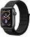 Apple Watch Series 4 GPS 44mm Space Gray Aluminum w. Black Sport Loop - Space Gray (MU6E2) - ITMag, фото 1