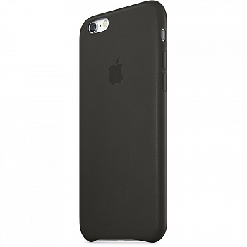 Apple iPhone 6 Leather Case - Black MGR62 - ITMag