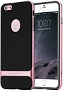 "TPU+PC чехол Rock Royce Series для Apple iPhone 7 plus (5.5"") (Черный / Rose gold) - ITMag"