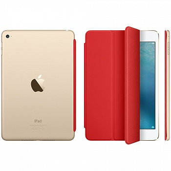 Apple iPad mini 4 Smart Cover - (PRODUCT) RED MKLY2 - ITMag