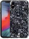 Чехол LAUT POP для iPhone XS - Black Nacre (LAUT_iP8_POP_PLBK (T)) - ITMag