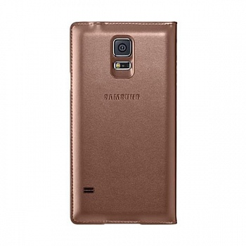 Чехол S View Cover Samsung Galaxy S5 G900H (brown) - ITMag