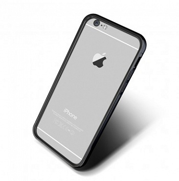 Verus Iron Bumber case for iPhone 6/6S (Black-Titanium) - ITMag