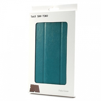 Чехол Crazy Horse Slim Leather Case Cover Stand for Samsung Galaxy Tab 3 8.0 T3100/T3110 Blue - ITMag