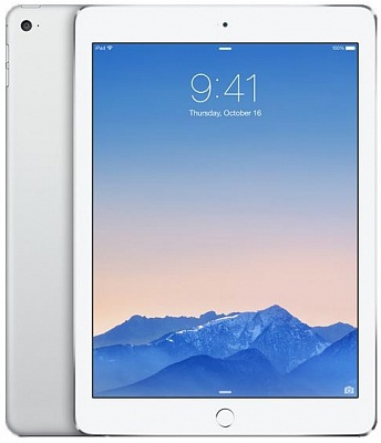 Apple iPad Air 2 Wi-Fi 128GB Silver (MGTY2) UA UCRF - ITMag