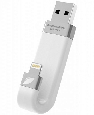 Leef iBridge White 128 GB - ITMag