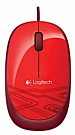 Logitech M105 Corded Optical Mouse (Red) - ITMag