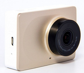 Xiaomi Yi car DVR Gold - ITMag