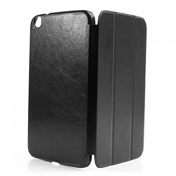 Чехол Crazy Horse Slim Leather Case Cover Stand for Samsung Galaxy Tab 3 8.0 T3100/T3110 Black - ITMag