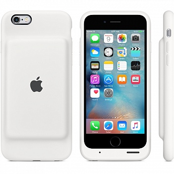 Apple iPhone 6s Smart Battery Case - White MGQM2 - ITMag