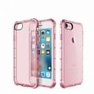 "TPU чехол ROCK Fence series для Apple iPhone 7 (4.7"") (Розовый / Transparent pink) - ITMag"