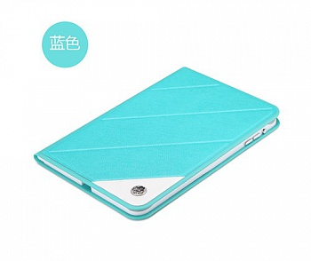 Чехол (книжка) ROCK Luxurious Series для Apple IPAD mini (RETINA) (Бирюзовый / Blue) - ITMag