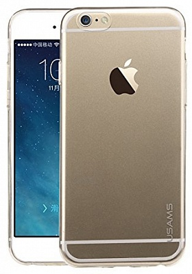 "TPU чехол ROCK Slim Jacket для Apple iPhone 6/6S (4.7"") (Прозрачный / Transparent) - ITMag"