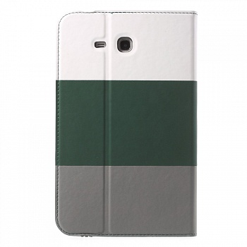 Чехол EGGO для Samsung Galaxy Tab 3 Lite T116 (White / Green / Black) - ITMag