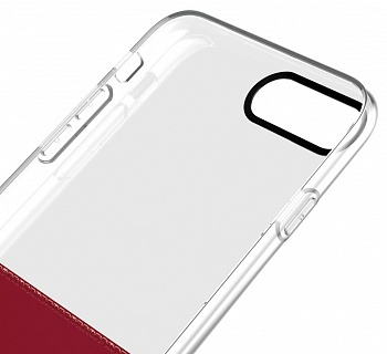 Чехол Baseus Half to Half Case For iphone7 Plus Wine red (WIAPIPH7P-RY09) - ITMag
