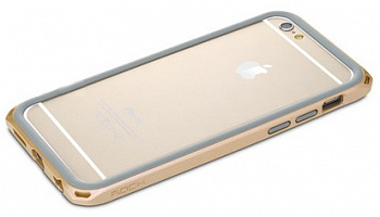 "Бампер Rock Duo Star Series для Apple iPhone 6/6S (4.7"") (Золотой / Gold) - ITMag"