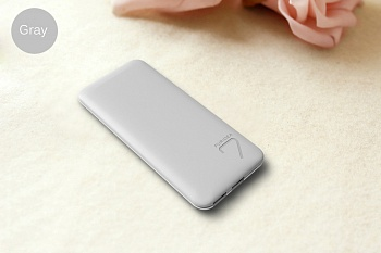 Power Bank PURIDEA S4 6600mAh Li-Pol Серый & Белый (S4-Grey White) - ITMag