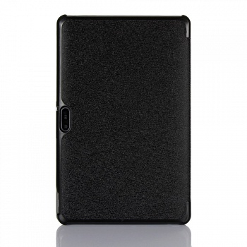 Чехол EGGO Silk Texture Tri-fold Stand Smart Leather Tablet Case for Dell Venue 11 Pro (Черный / Black) - ITMag