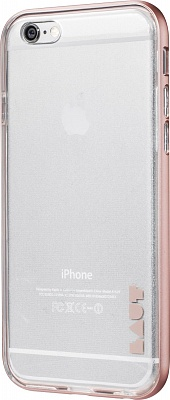 Бампер LAUT EXO-FRAME Aluminium bampers для iPhone 6 Plus/6S Plus - Rose Gold (LAUT_IP6P_EX_RG) - ITMag