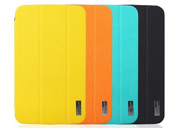 Чехол (книжка) Rock Elegant Series для Samsung Galaxy Tab 3 8.0 T3100/T3110 (Желтый / Yellow) - ITMag
