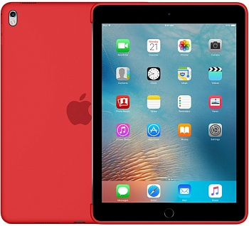 "Apple Silicone Case for 9.7"" iPad Pro - (PRODUCT) RED (MM222) - ITMag"