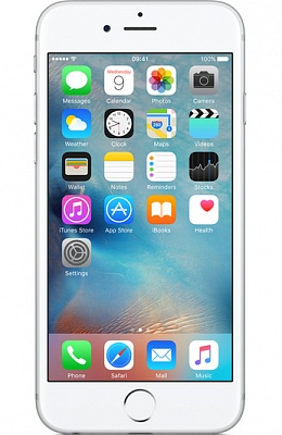 Apple iPhone 6 Plus 16GB Silver (Refurbished asurion) - ITMag