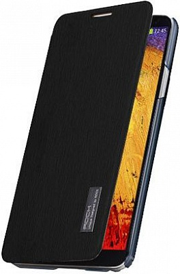 Чехол (книжка) ROCK Elegant Series для Samsung N9000/N9002 Galaxy Note 3 (Черный / Black) - ITMag